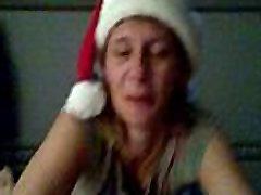 Jackie James giving holiday cocksucking