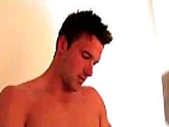 Muscle stud pornstar cock tugging