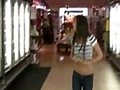 Flashing in super market