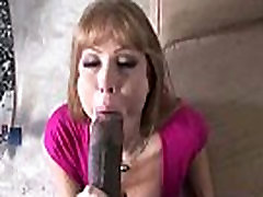 Black dick stuffed in my moms pussy 5