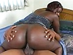 Big Booty Black Girl Gets Dicked Down