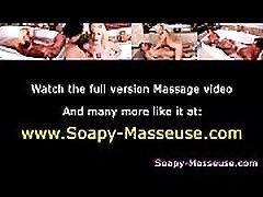 Asian fetish masseuse teases cock