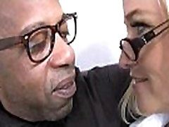 Big tits bounce on a black cock and mom joins in 7