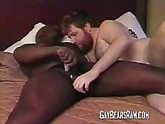 Black hunk doing a big czech couple money for bear