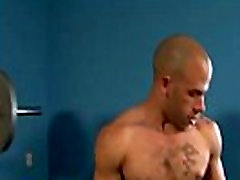 Hunky pornstar stud gets hard
