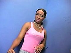Sexy Ebony Deepthroats Gloryhole Dick 7
