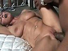 Busty milf in sensual interracial fucking 27