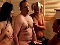 Weird femdom sluts taunt humiliated cock