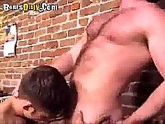 Burly zarabet sex Dad Gets A Deep Throat Suck