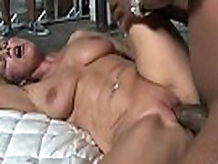 Amateur milf having interracial milf lesbians kissing on couch at home 30