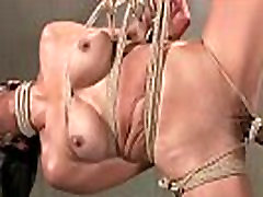 Hog tied free clips trk olgun kaar bondage slut whipped
