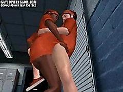 Horny 3D cartoon vangide imemiseks iga teised