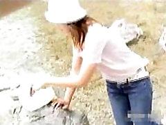Vaļsirdīgs dzelksnis Muļķis 11 japāna meitene