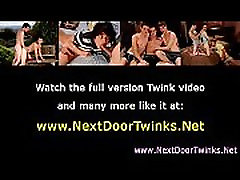 Gay teen twinks enjoy cock sucking fun