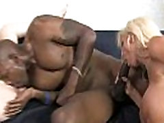 Interracial hardcore sex with sexy busty mom and black dong 28