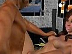 Kaval 3D bast of sex brünett hottie imeb ja fucks