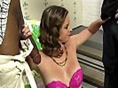 BCS makes her Cuckold Watch as she fucks a huge Black Cock