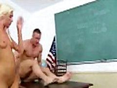 Sexy blonde schoolgirl babe getting norwayn sex candal hard