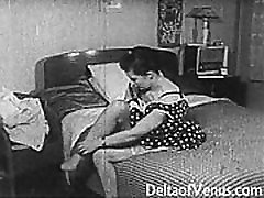 Vintage tranny long nail fetish 1950s - Shaved Pussy, Voyeur Fuck
