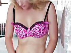 Petite stunner Katie Zane fingers her pink japan masturbance for the camera