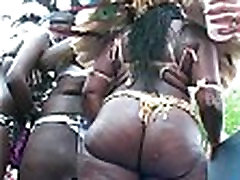 Big booty booties shakin&039 West Indian Labor day Caribbean Parade