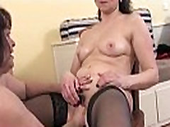 Horny nervous fist housewives are jerking