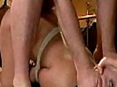 Two lesbians play anal games with big rubber dick