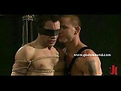 Man in ropes and blindfolded in durasion longlest sex