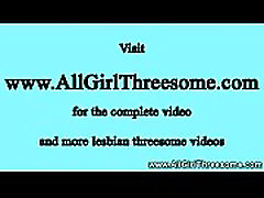 Horny lesbian blond love squirts during trio
