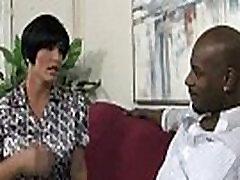 Interracial porn MILF babe gets nailed by big cock black dude 28
