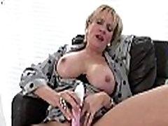British mature lady in stockings