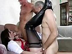 joyslym james stocking fuck mmf threesome