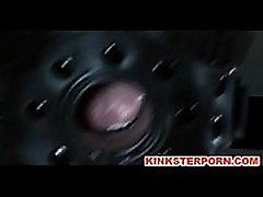 BDSM Maledom Fetish - Gag Gimp Slave Elise Graves