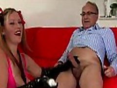 Lingerie tramp relishes anal sex