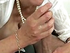 Busty mature Lady Sonia does russian