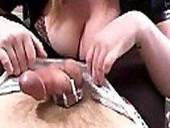 Femdom Handjob Chastity Tease and Denial