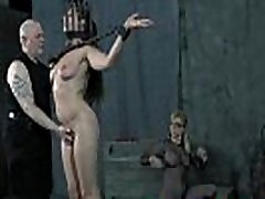 Old mom and son with porn Masters Whipping of Chained Slave