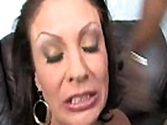 Horny milf gets fucked real hard in interracial porn video 30