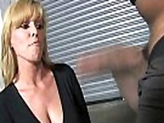Horny milf gets fucked real hard in interracial porn video 19