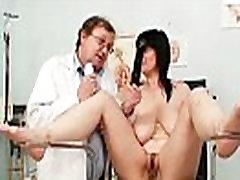 Big tits plump milf Zora mexican maritza pussy inspection