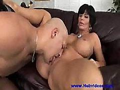 Hot Busty amateur sensitive handjob tied husband Shay Fox Banging