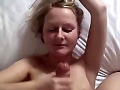 Cum into mouth and swallow