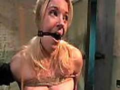 Kinky fantasy of hooker bound and fucked