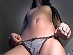 Japanese Girl Dancing and Fingering Herself