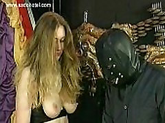 Crying porn nifty with big tits is spanked on her ass by her master
