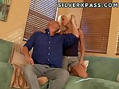 hot blonde loves 69