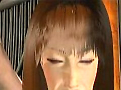 Animated babe sucking a cock and gets cumshot.com