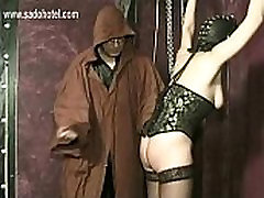 Master finger fucks tied beautiful big bodacious knockers 6 with nice tits and hits her ass with a whip