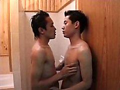 Gay Asian twinks fucking