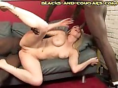 Cougar suney leney Threesome